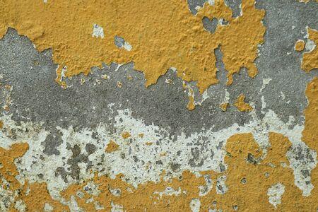 Vintage wallpaper peeling paint Archivio Fotografico