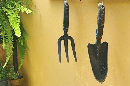 Cultivating soil for the garden
