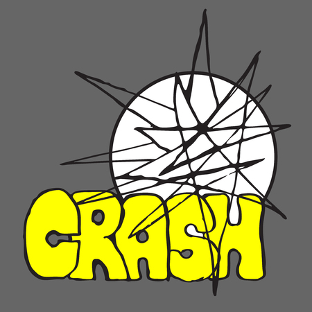 destruction: Crash and Boom. Destruction illustration
