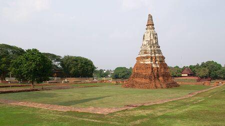 Stupa at the Wat Yai Chai Mongkhon in Ayutthaya, Thailand