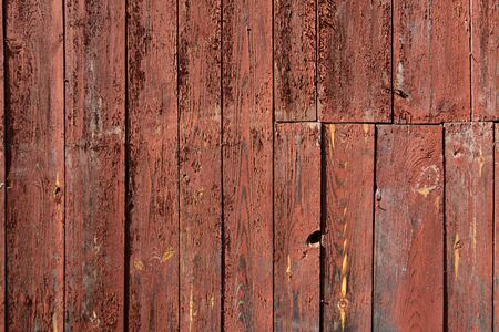 Wooden texture of red color background. Stock photo of rustic wooden textured wall 写真素材