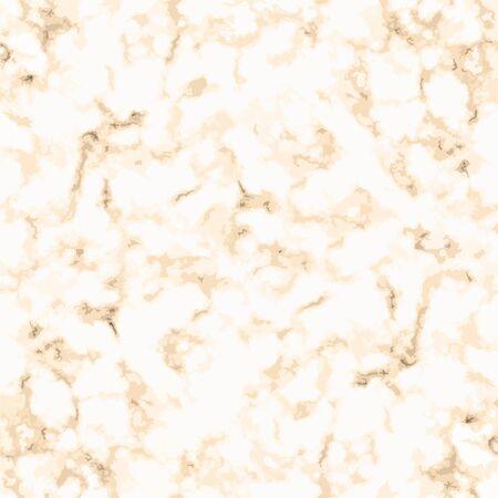 Abstract texture of gold and white marble seamless pattern. Cracked concrete. Grunge background vector stock wallpaper texture tile  イラスト・ベクター素材