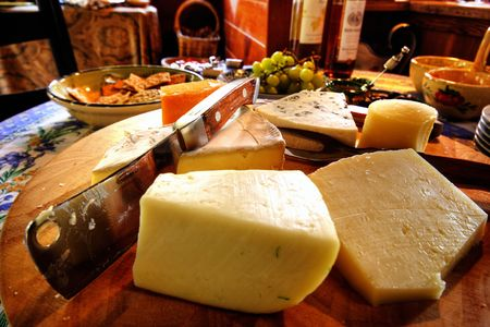 치즈 플래터 스톡 콘텐츠