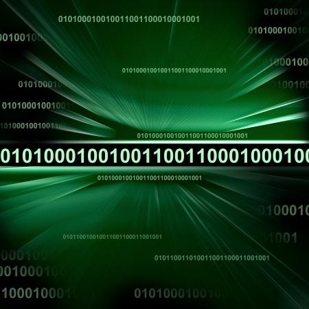 encode: Binary code background