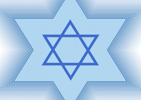 shalom: The Star of David Stock Photo