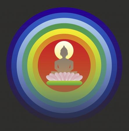 Buddha in meditation Stock Photo - 24766384
