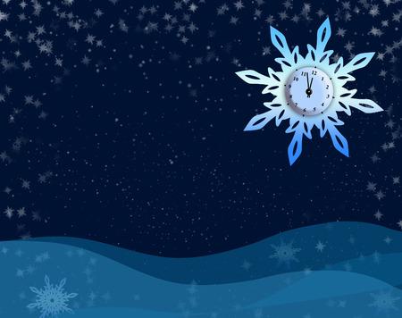 New Year background photo