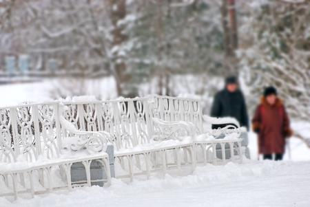 by catherine: TSARSKOYE SELO, SAINT-PETERSBURG, RUSSIA - JANUARY 27, 2015: The Catherine Park. Winter period. The Tsarskoye Selo is State Museum-Preserve. Located near Saint-Petersburg