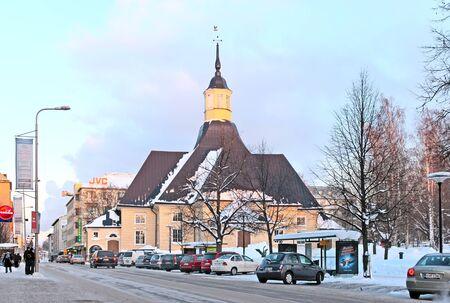 saint mary: LAPPEENRANTA, FINLAND - FEBRUARY 18, 2010: Lappeen Marian kirkko (St. Mary\\