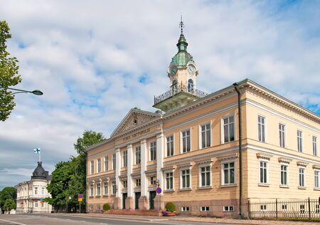 engel: Pori. Finland. Old Town Hall Building. Designed by the architect C.L. Engel in 1831