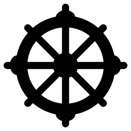 Eight-spoke wheel of dharma