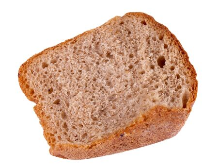 Piece of not fresh rye bread Stockfoto