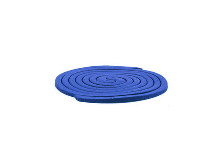 mozzie: Mosquito coil on white background