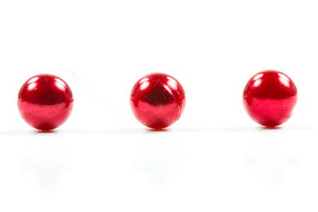 red pushpin: Red pushpin on white  Stock Photo