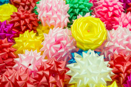 ribbin: Group of Colorful Gift Bow
