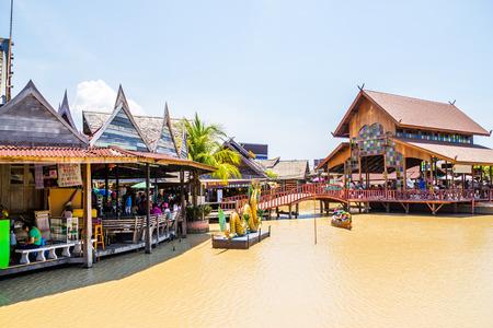 The 4-Region Floating Market, Pattaya, Thailand