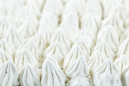 alumina: Soft-prepared chalk or white clay filler, it call Dinsophong in Thai. Stock Photo