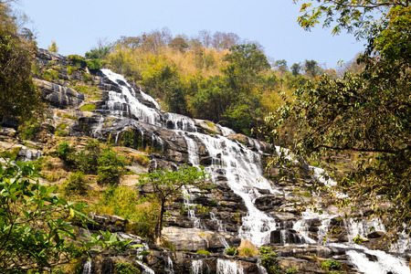 Mae Ya Waterfall, Nam Tok Mae Ya, Chiang Mai, Thailand photo