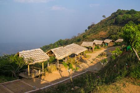 Monjam resort at Chiangmai, Thailand 版權商用圖片