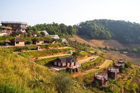 dao: Viewpoint at moning dao resort, Chiang Mai, Thailand Stock Photo