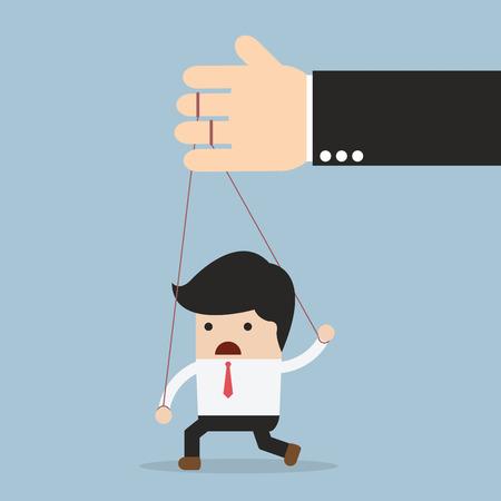 under control: Businessman under control, VECTOR, EPS10