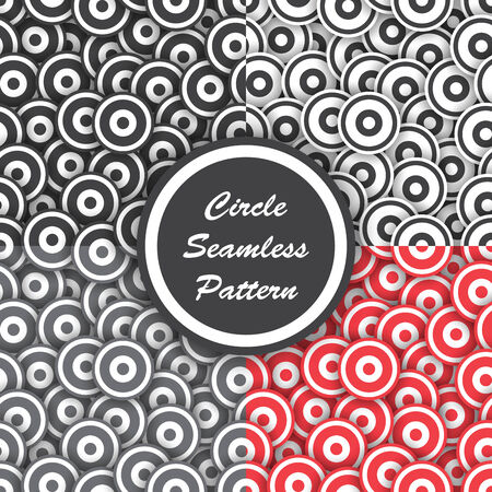 vector eps10: Circle seamless pattern, Abstract background, VECTOR, EPS10