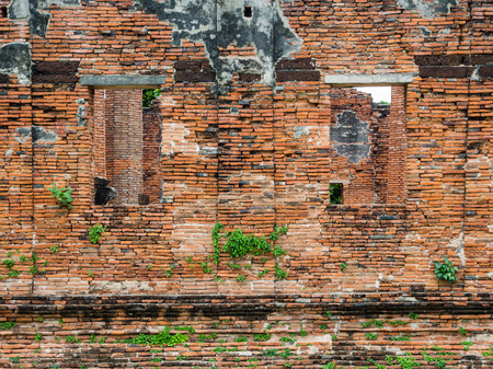 Wat Worachatha Ram ancient building and historical place, Ayutthaya ,Thailand photo