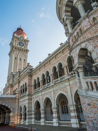 exterior shape: Sultan Abdul Samad Building in Kuala Lumpur, Malaysia
