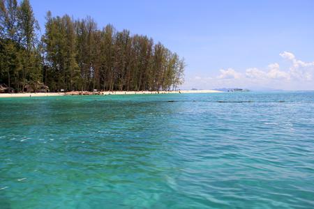 krabi: Bamboo island at Krabi  Thailand Stock Photo