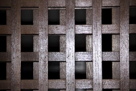 grating: Wooden sliding door grating style