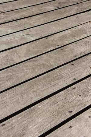 floor coverings: Wooden floor of the outdoor terrace