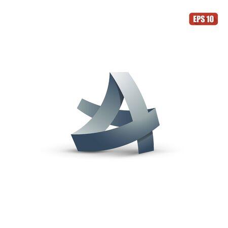 logo vector: Letter A vector logo symbol