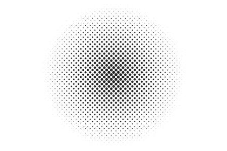 nakładki: Medium dots halftone background. Overlay texture. Ilustracja