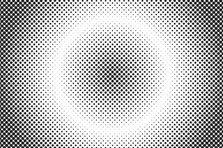 Medium dots halftone background. Overlay texture. Illustration
