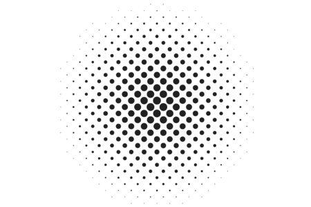 nakładki: Duże kropki półtonów vector background. Nakładka tekstury.