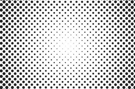 nakładki: Big dots halftone vector background. Overlay texture.