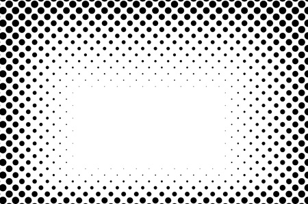 halftone cover: Big dots halftone vector background. Overlay texture.