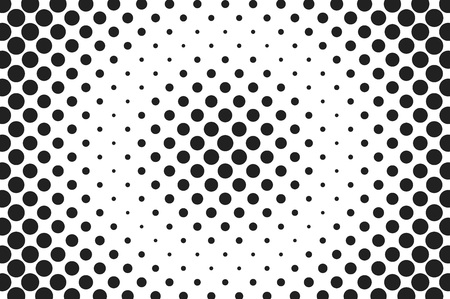 halftone cover: Huge dots halftone vector background. Overlay texture.