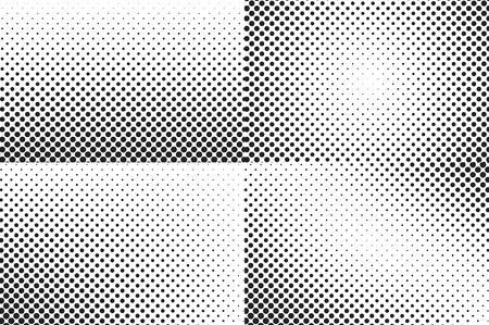 nakładki: Ogromne kropki półtonów tła. Nakładka tekstury.