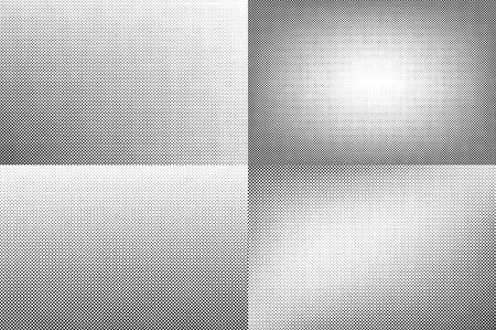 nakładki: Huge dots halftone background. Overlay texture. Ilustracja