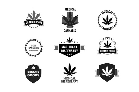 Bages and labels for medical marijuana.