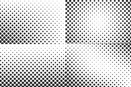 nakładki: Ogromne kropki półtonów vector background. Nakładka tekstury.
