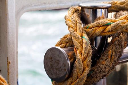 cleat: Rope