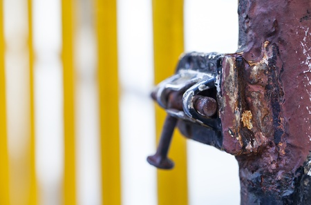 Rusty Lock Stock Photo - 18216446