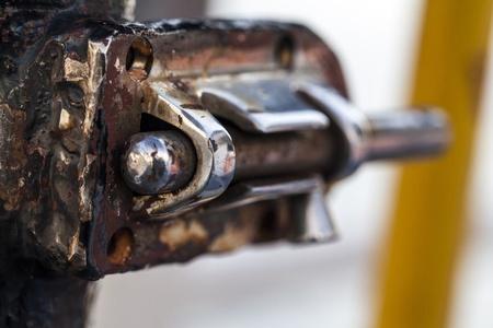 Rusty Lock Stock Photo - 18216506
