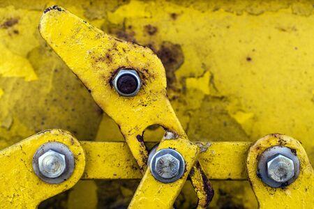 Rusty Metal Door Stock Photo - 18216571