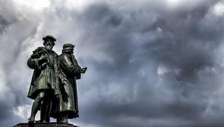 gutenberg: The Frankfurt Johannes Gutenberg Statue