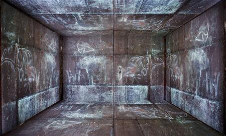 industry moody: Grunge Metal Room Urban Interior Stage
