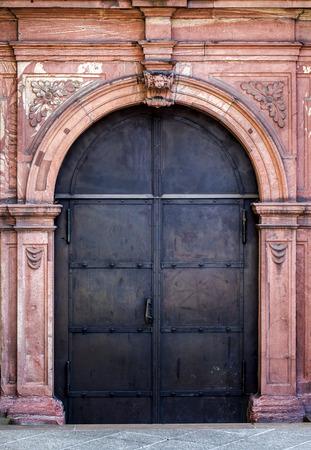 Ancient Iron Door photo