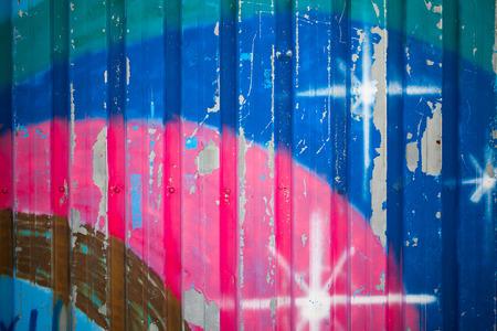 Graffiti-Wand Hintergrund Lizenzfreie Bilder